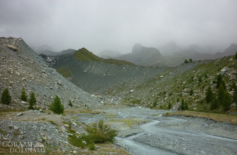 Dolina Aosty Alpy Walijskie