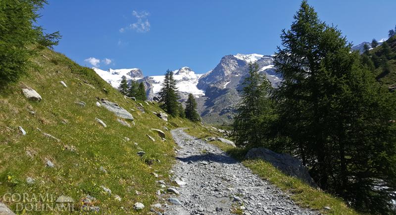 Dolina Aosty, Alpy Walijskie