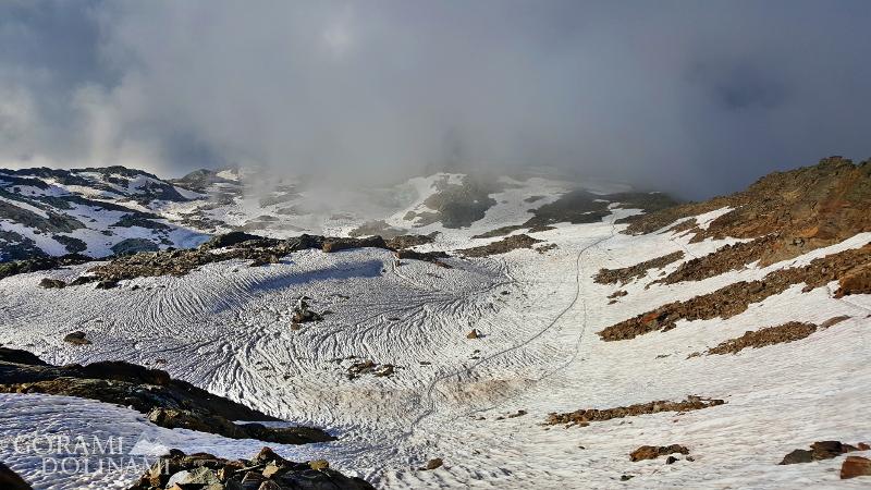 Alpy lodowiec